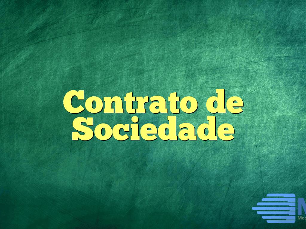 Contrato de Sociedade